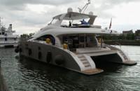 Dwa miliony euro na wodzie... katamarany na eksport