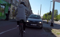 W Gdyni na ciągu pieszo-rowerowym więcej...
