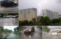 Burza nad Trójmiastem - kompilacja filmów czytelników