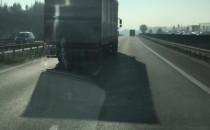 Wyprzedzanie ciężarówki na obwodnicy