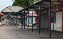 Trwa rozbiórka Targowiska w Chyloni