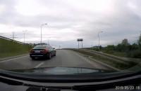 Kierowca zajeżdża drogę