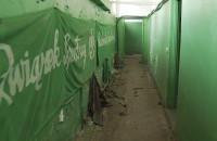 Trwa wyburzanie stadionu UG w Oliwie
