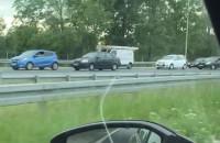 Wypadek S7 Cedry w stronę Elbląga