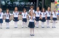 Występ zespołu dziecięcego z okazji dnia dziecka