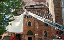 Pożar kościoła pw. św. Piotra i Pawła w...