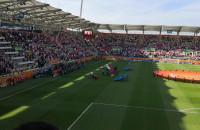 Hymny przed meczem Polska - Włochy