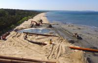 Rozpoczęła się refulacja plaży między Brzeźnem a Jelitkowem
