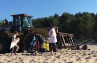 Niebezpieczna sytuacja na plaży