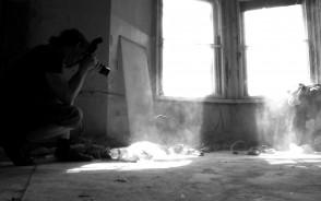 Plener fotograficzny w dawnej Przychodni