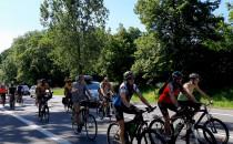 Przejazd rowerowy okolice Tczewa