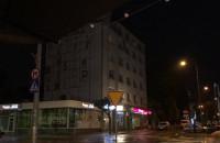 Pada, błyska i grzmi na Starowiejskiej w Gdyni