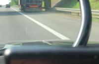 Awaria ciężarówki na obwodnicy w Karwinach