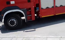 Akcja strażaków na Przymorzu