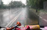 W Sopocie znowu pada
