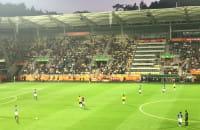 Fala na meczu o 3 miejsce Włochy-Ekwador