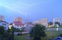 Nocna burza nad Gdynią - Nightlapse