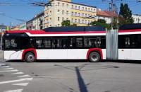 Trolejbus - gigant w centrum Gdyni
