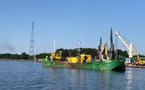 Pogłębianie wewnętrznego Portu w Gdańsku
