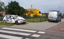 Skasowana osobówka w wypadku w Letnicy