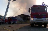 Pożar na Oruni 26.06.2019 r. Trwa akcja gaśnicza