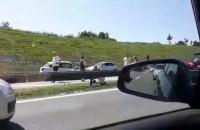 Wypadek na obwodnicy na wysokości Szadułek