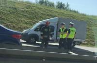 Wypadek na obwodnicy S6 za Węzłem Karczemki