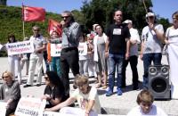 Gdańsk broni Westerplatte protest zorganiowany przez Obywateli RP