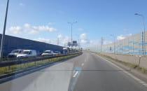 Korek na Trasie Sucharskiego z perspektywy...