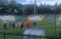 Lechia - Olympiakos. Przepychanki na sparingu