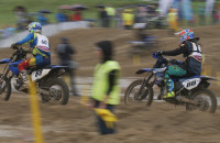 Gdańsk Motocross Show w strugach deszczu
