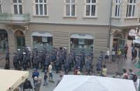 Jakaś parada policji na Monciaku
