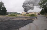 Pożar przy ul. Sandomierskiej w Gdańsku