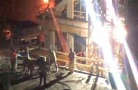 Nocne prace na Garnizonie