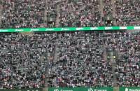 Lechia Gdańsk - Broendby IF. Doping kibiców biało-zielonych