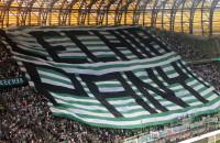 Lechia Gdańsk sektorówka na meczu z Broendby IF