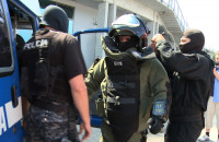 Bomba w ERGO Arenie