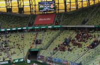 Lechia Gdańsk - Wisła Kraków 0:0. Doping kibiców
