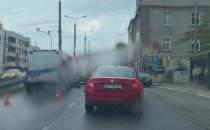 Kolizja koło Klifu w stronę Gdyni