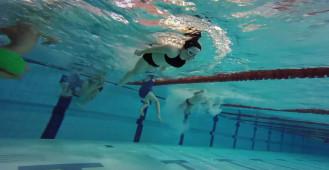 Podwodne ujęcia naszych zajęć :)