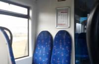 Zalany pociąg PolRegio z Lęborka do Łeby