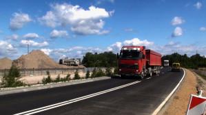 Prace budowlane na Trasie Sucharskiego