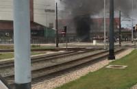 Pożar auta pod Forum Gdańsk. Ewakuacja galerii