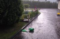 Burza i oberwanie chmury w Gdyni