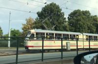 Zabytkowy tramwaj w Gdańsku