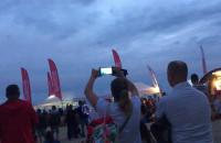 Pokazy lotnicze Lotos Aerobaltic Gdynia - widok od plaży