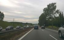 Korek na obwodnicy w kierunku A1