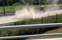 Pył unosi się wokół budowy Nowej Bulońskiej