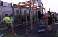 Trening na świeżym powietrzu w Good Luck Club