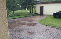 W Gdyni już burza i leje